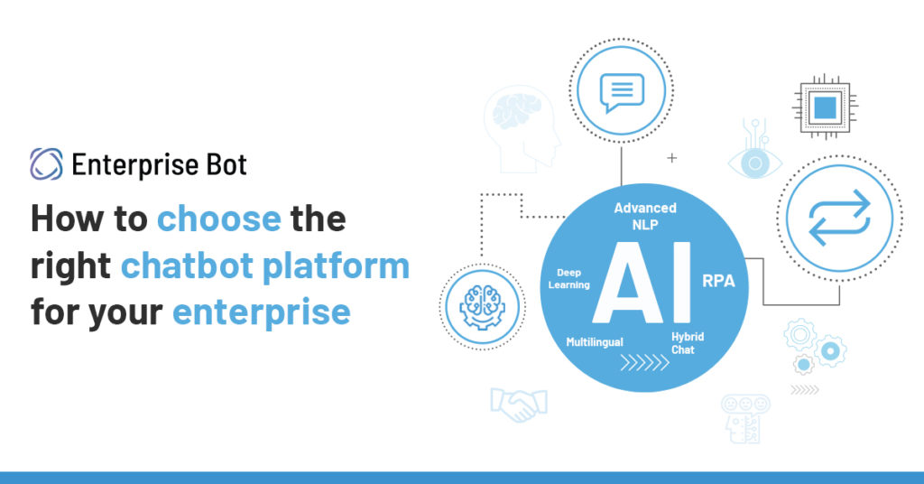 How to choose the right chatbot platform for your enterprise