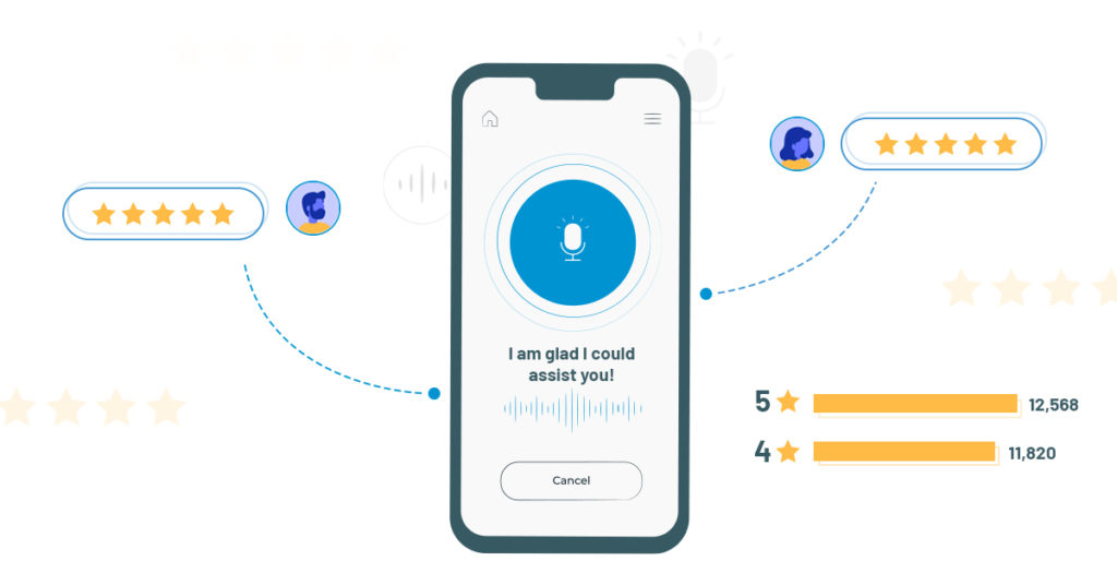 Drive more meaningful experiences at large scale using AI voicebot