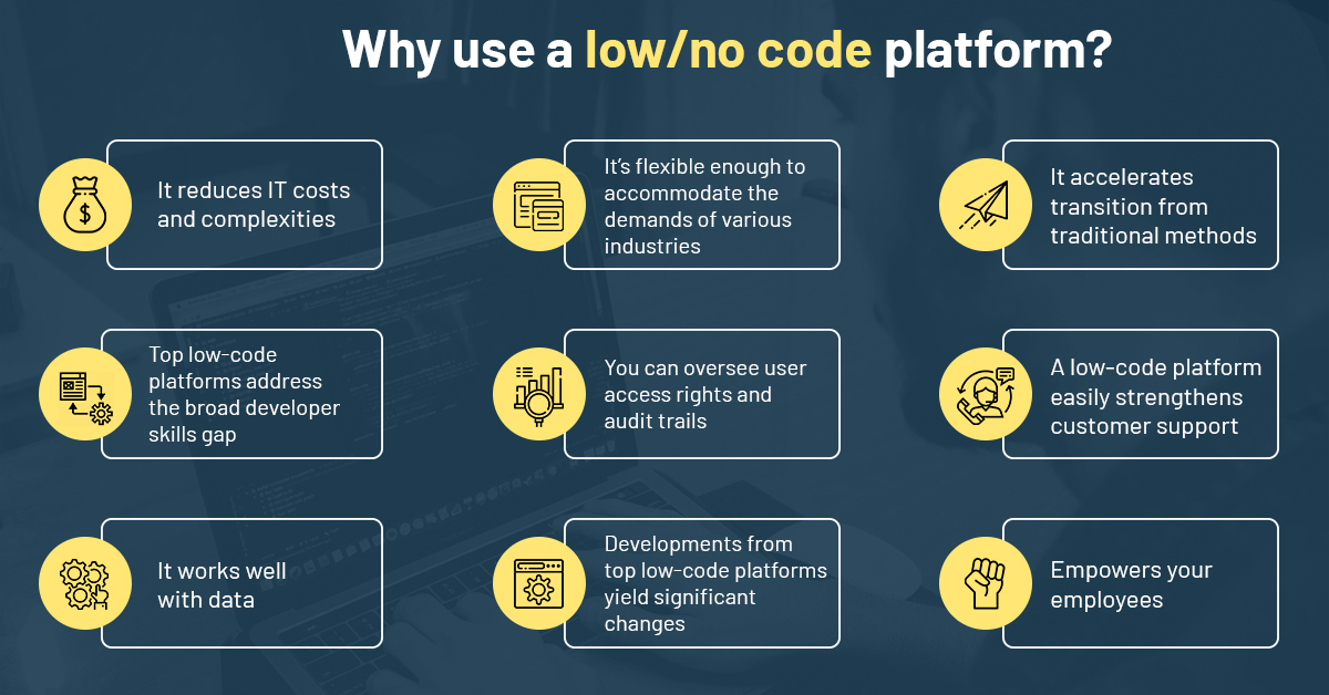 Why use a low code platform?